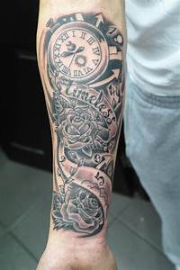 The gallery for --> Timeless Tattoo Forearm