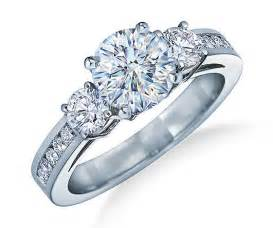 three engagement rings how to choose the engagement ring