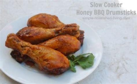 crockpot bbq drumsticks slow cooker honey bbq drumsticks recipe 2 just a pinch recipes