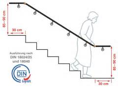 treppen handlauf din 18040 1 treppen nullbarriere de