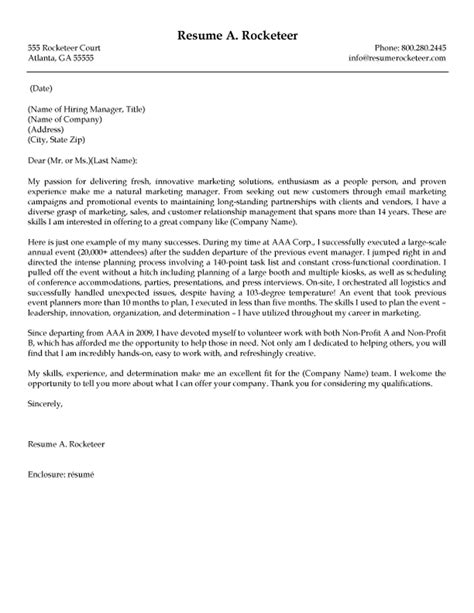 marketing event coordinator cover letter review  cover