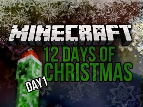 """""""your Face"""" 12 Days Of Christmas Minecraft Special  Day 1 Youtube"""