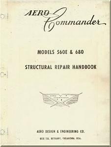 Aero Commander 560 E  U0026 680 Aircraft Structural Repair
