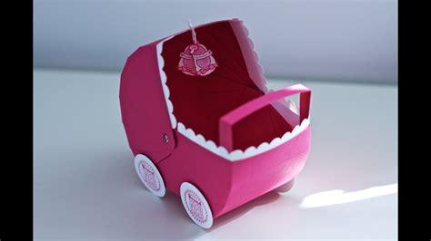 kreativer montag  babygeschenk kinderwagen youtube