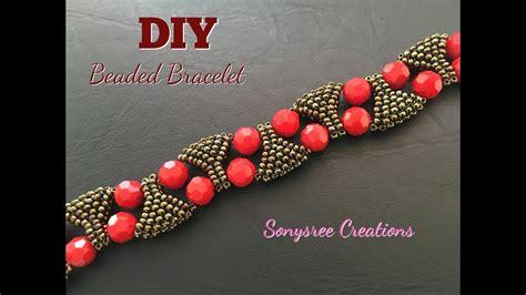 designer statement bracelet beaded bracelet diy bracelet