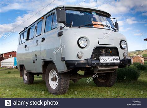 Mongolian common transport vehicle UAZ - 39625 (it`s call ...