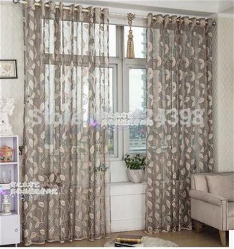 popular grey sheer curtains buy cheap grey sheer curtains