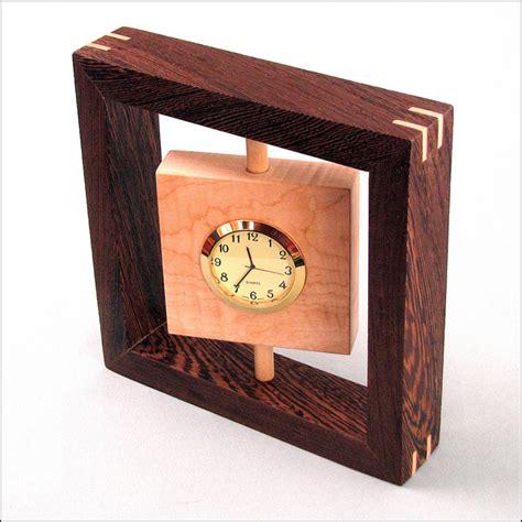 build diy wood clock projects  plans wooden garden