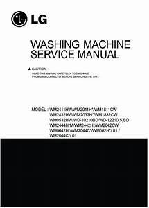 Lg Wm1832cw Service Manual