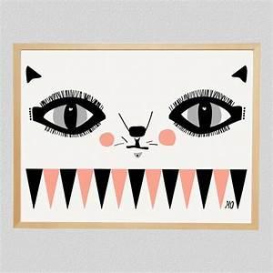 Cat Face #illustration | Cat Illustration | Pinterest