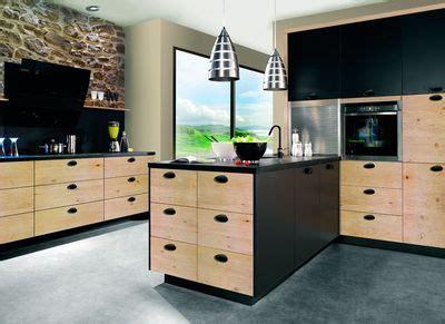 facade meuble cuisine bois brut facade cuisine bois brut le bois chez vous