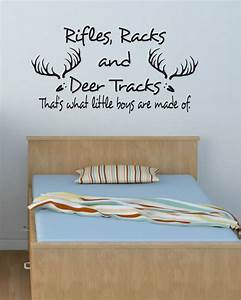 baby boy room decal vinyl wall decal rifles racks by With nice wall decals for toddler boy room