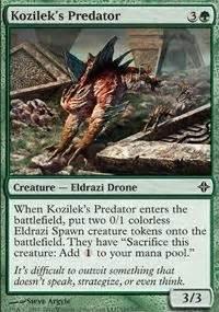 kozilek s predator mm2 mtg card