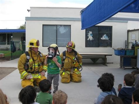 photos edgewater preschool child care center day care 347 | long beach preschool firemen visit