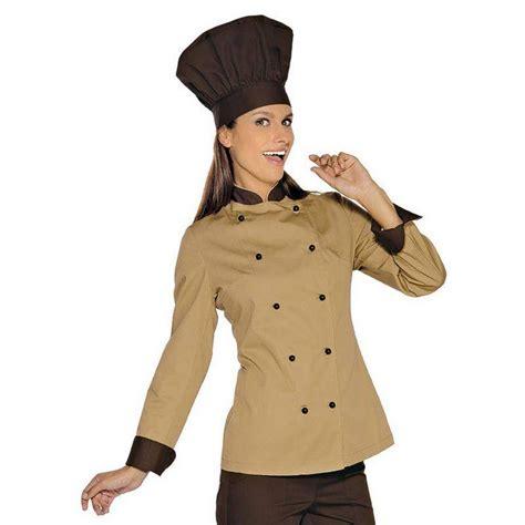 veste de cuisine femme manches longues veste cuisini 232 re tenue de cuisine