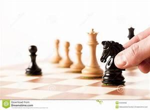 Playing Chess Stock Photo - Image: 52050938