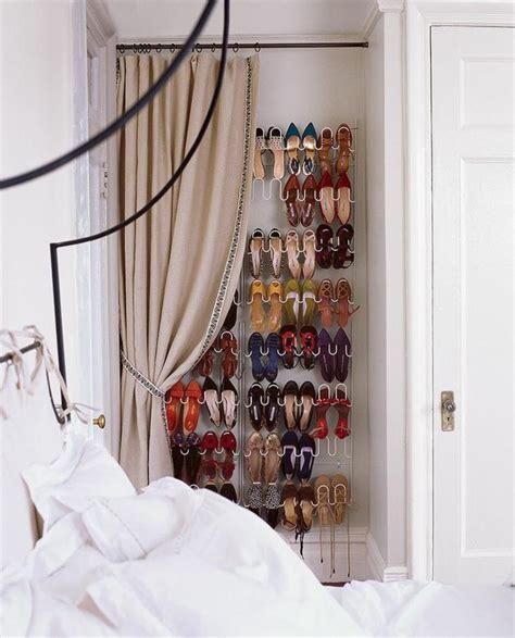 amenagement chambre adulte dressing avec rideau 25 propositions pratiques et jolies