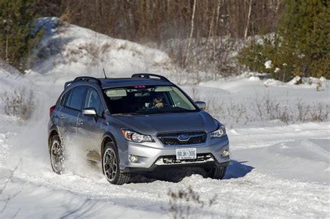 subaru snow review 2015 subaru crosstrek a snow warrior built for