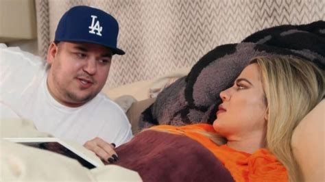 Kuwtk Khloe Kardashian Asks Rob About Time He Allegedly