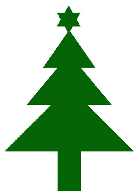 afbeelding prent kerstboom met ster afb  images