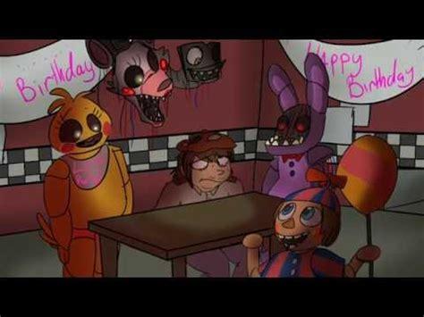 fnaf  video birthday card youtube