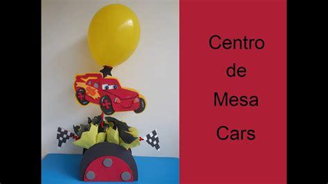 centro de mesa cars centerpiece cars youtube
