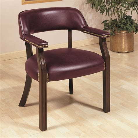 coaster office chairs 511b traditional upholstered vinyl