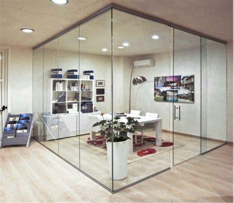 separation de bureau en verre cloison de séparation décorative pour sublimer l espace