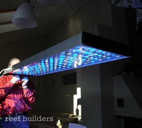 reef light t led aquarium fixture from reef republic news