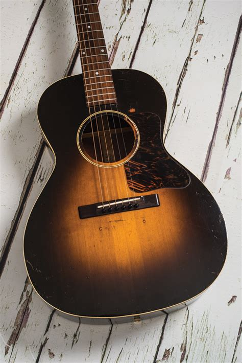 Vintage L Value by Vintage Bench Test 1939 Gibson L 00 The Guitar Magazine