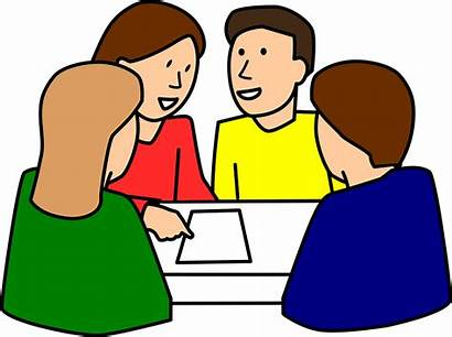Classroom Learning Cooperative Discussion Students Graphic Vector