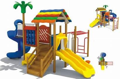 Playground Clipart Equipment Cartoon Park China Clip