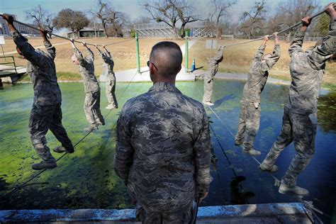 daily air force basic military training afbmt schedule