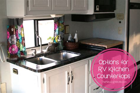 how to redo kitchen countertops rv remodel archives the new lighter