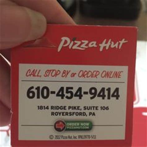 pizza hut number phone pizza hut 13 photos pizza 1814 e ridge pike