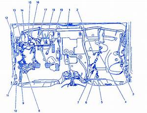 Chevrolet Metro L 4 2002 Junction Electrical Circuit