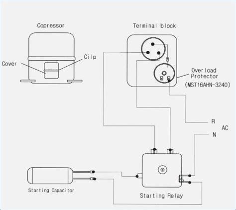 refrigerator compressor wiring diagram moesappaloosas