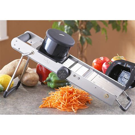 cuisine mandoline pro stainless steel mandoline slicer with bonus food