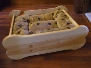 wood pallet diy dog bed for the fur babies pinterest