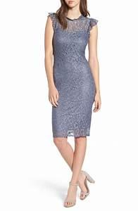ruffle sheath dresses on trend for fall wedding guests With sheath dresses for wedding guest