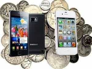 5500 With samsung didnt pay apple with nickels