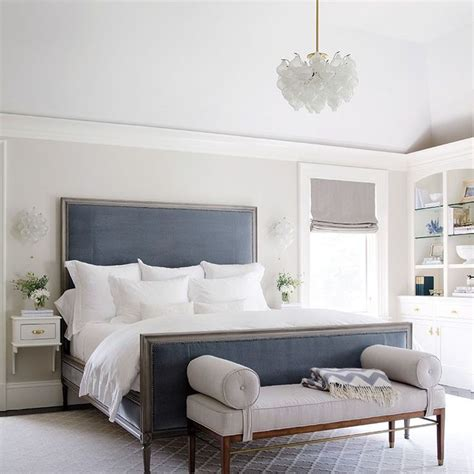 chambre bleu et gris chambre bleu et gris idées déco en tons neutres et froids