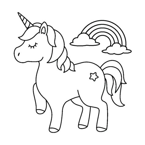 Coloring Pictures by Unicorn Coloring Pages Images Pictures