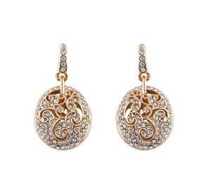 bridal earrings vintage filigree earrings