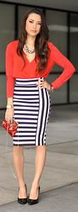 17 mejores ideas sobre Faldas Lu00e1piz Negras en Pinterest | Vestido de falda tubo Trabajo falda ...