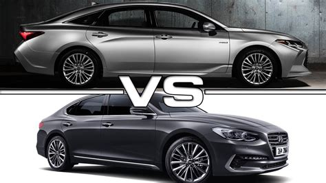 2019 Toyota Avalon Vs 2018 Hyundai Azera Youtube