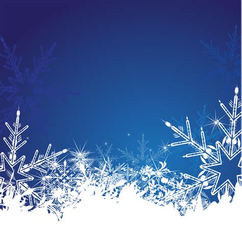 Winter Winter Background Snowflake by Winter Snowflake Background Material Winter Snowflake
