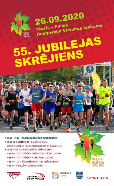 55. jubilejas skrējiens - Daugavpils pilsētas 12 ...