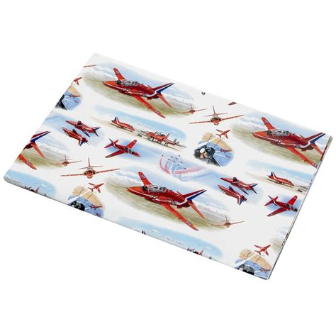 red arrows gift aircraft wrap