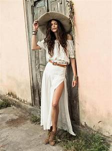 Boho Chic Summer Outfit Ideas 2018 | FashionGum.com